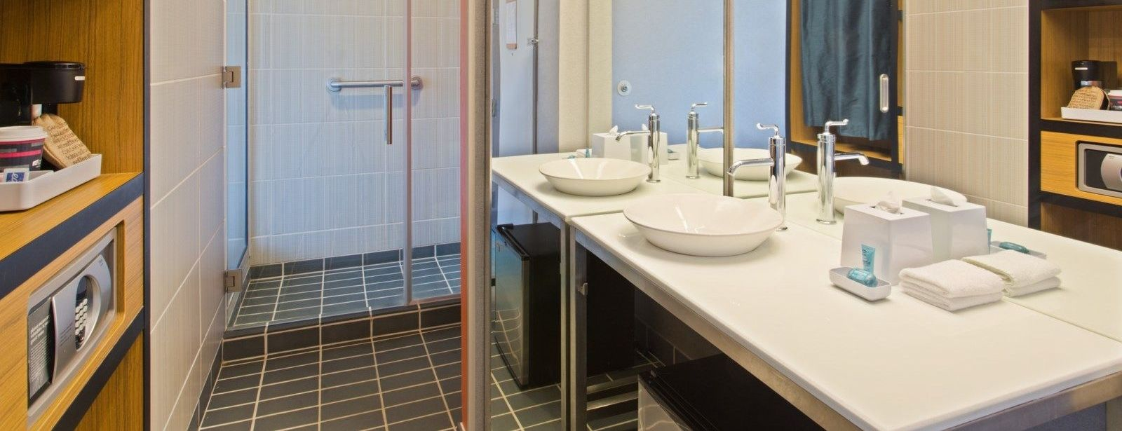 Birmingham Accommodations - Accessible Guest Bath